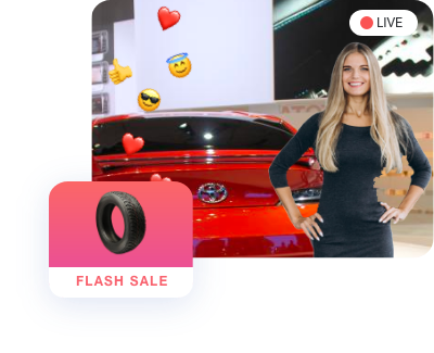 Add Live Streaming Commerce