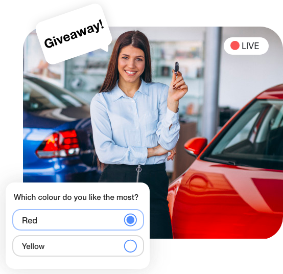 Live Streaming Commerce for Automobile Industry